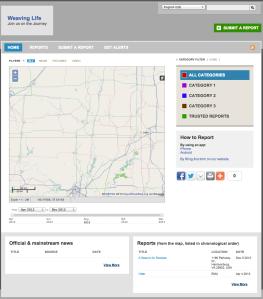 Ushahidi Crowdmap
